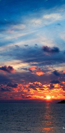 Sunset. Foros, Crimea, 2008